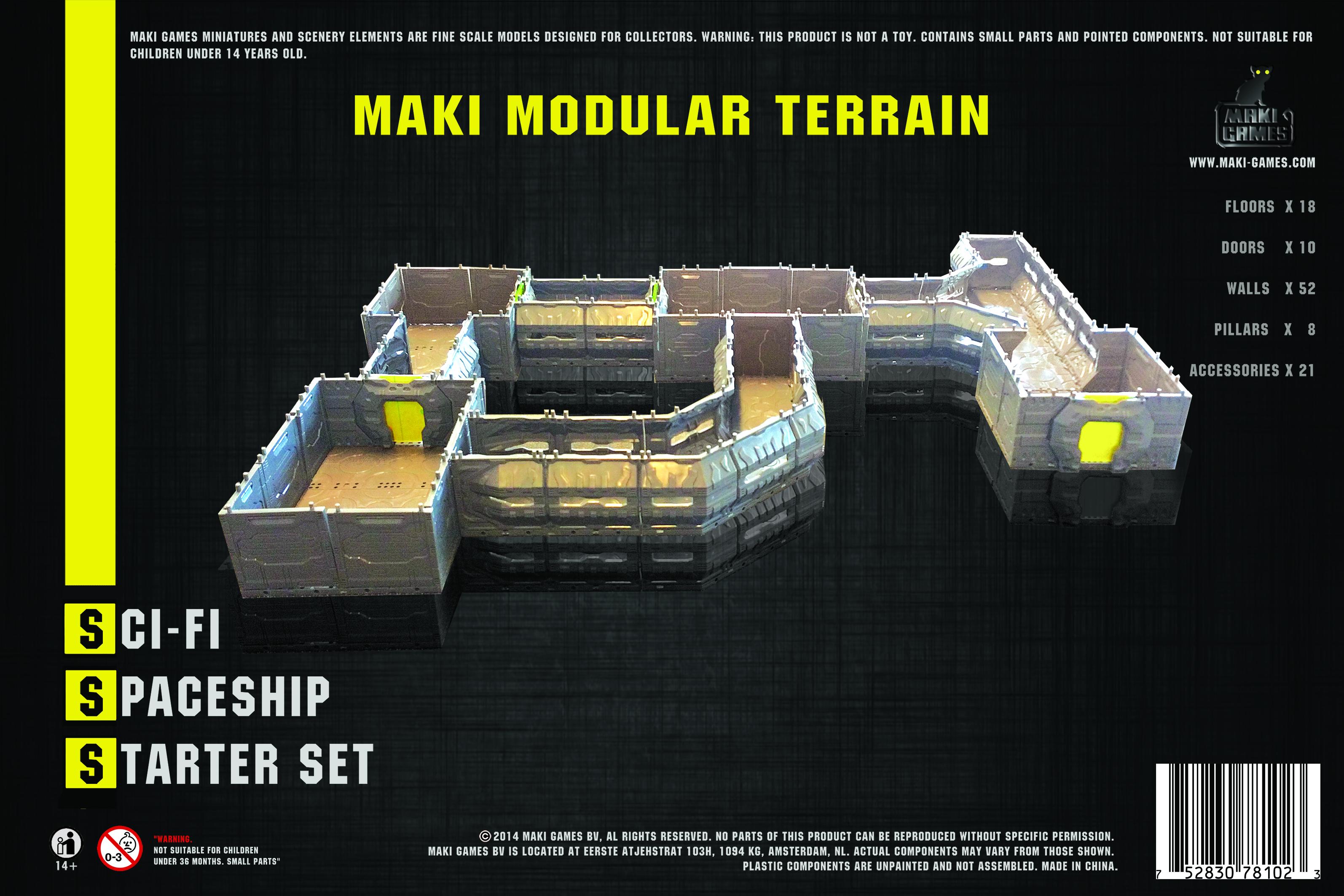 Spaceship Dungeon Starter Set